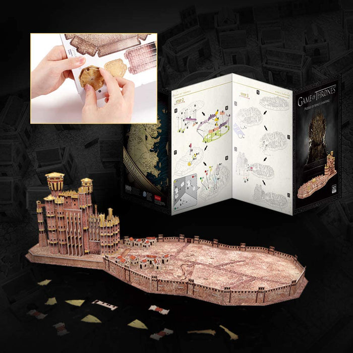 Game of Thrones King's Landing 3D Puzzle - The Panic Room Escape Ltd