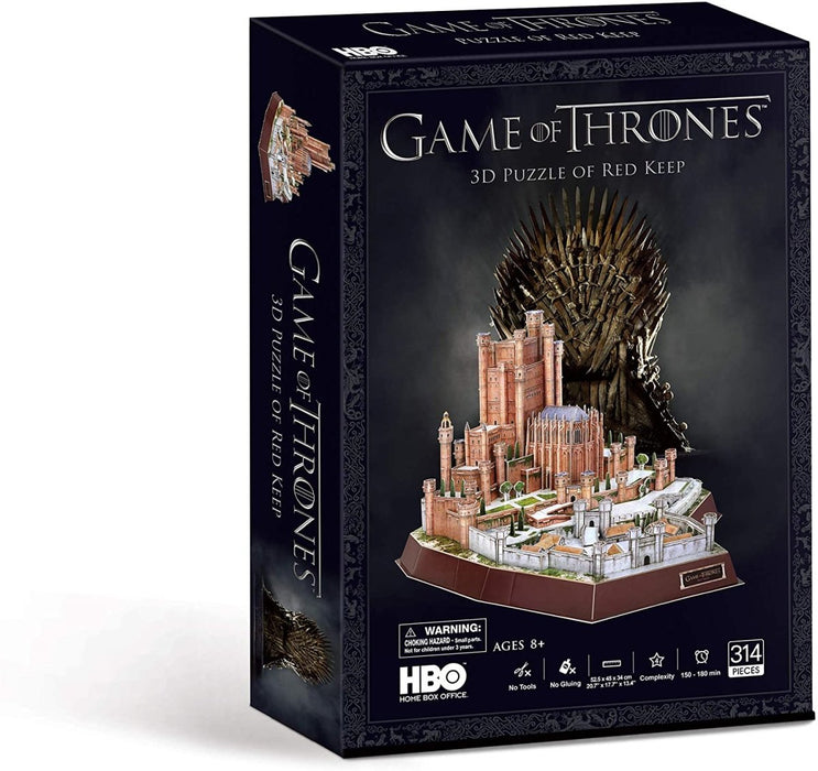 Game of Thrones Red Keep 3D Puzzle - The Panic Room Escape Ltd