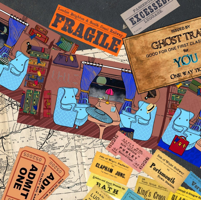Ghost Train - Puzzle Cards - The Panic Room Escape Ltd
