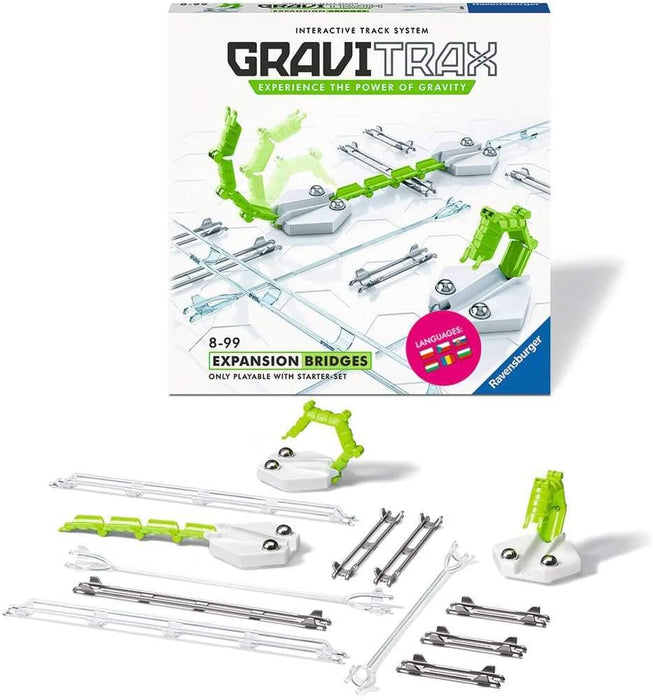 GraviTrax Bridges Accessory - Marble Run & Construction Toy for Kids Age 8 Years and up - The Panic Room Escape Ltd