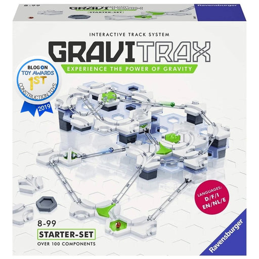 GraviTrax Starter Set - Marble Run, STEM and Construction Toy Kids Age 8 Years and Up - Indoor Activities for Boys, Girls and Families - The Panic Room Escape Ltd