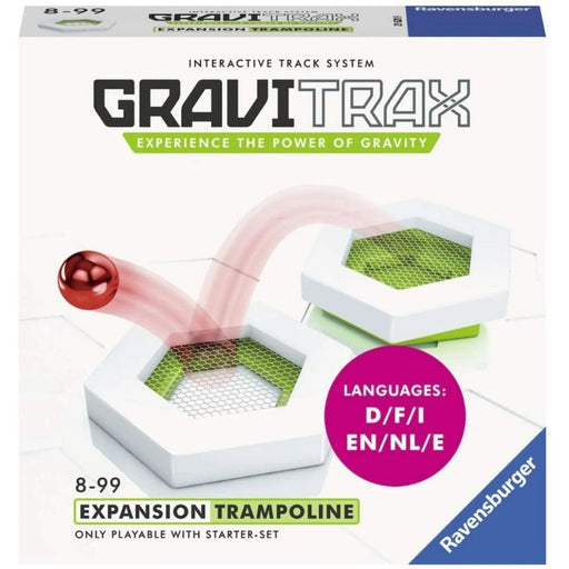 GraviTrax Trampoline Accessory-Marble Run & Construction Toy for Kids Age 8 Years and up - The Panic Room Escape Ltd