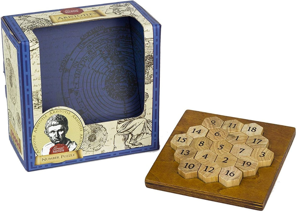 Great Minds Aristotle's Number Puzzle - The Panic Room Escape Ltd