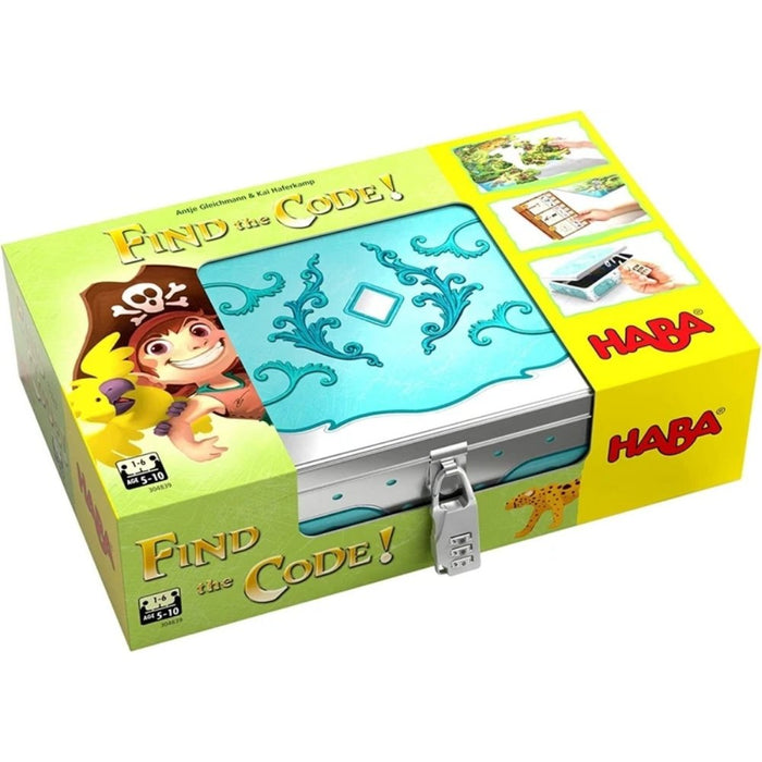 HABA - Find The Code: Pirate Island - The Panic Room Escape Ltd