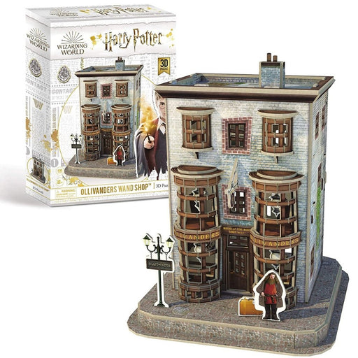 Harry Potter Diagon Alley Olivanders Wand Shop 3D Puzzle - The Panic Room Escape Ltd