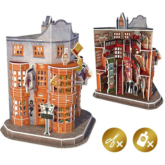 Harry Potter Diagon Alley Weasleys' Wizard Wheezes 3D Puzzle - The Panic Room Escape Ltd