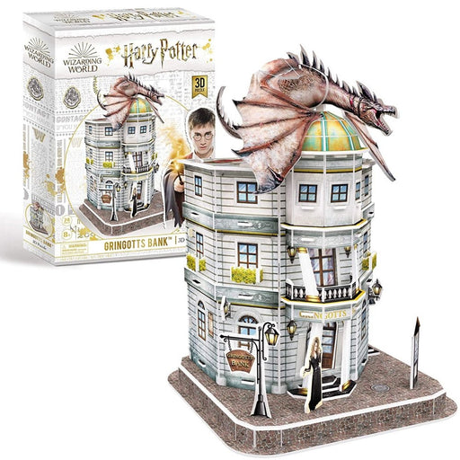 Harry Potter Gringotts Bank 3D Puzzle - The Panic Room Escape Ltd