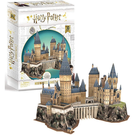 Harry Potter Hogwarts Castle 3D Puzzle - The Panic Room Escape Ltd