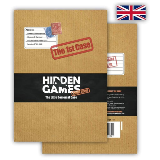Hidden Games Crime Scene - The First Case: Little Gomersal - The Panic Room Escape Ltd