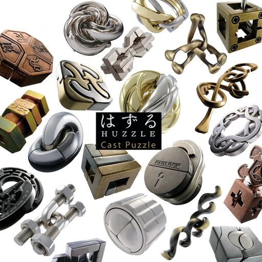 Huzzle - Deluxe 3D Metal Puzzles (8 to choose from) - The Panic Room Escape Ltd