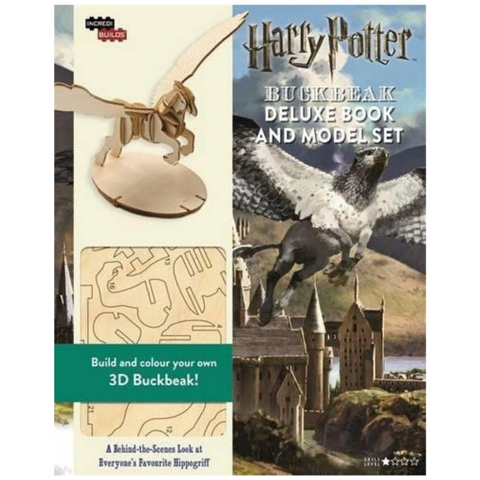IncrediBuilds: Harry Potter: Buckbeak Deluxe Book and Model Set - The Panic Room Escape Ltd
