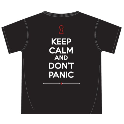 KEEP CALM AND DON'T PANIC - Limited Edition T-Shirts - The Panic Room Escape Ltd