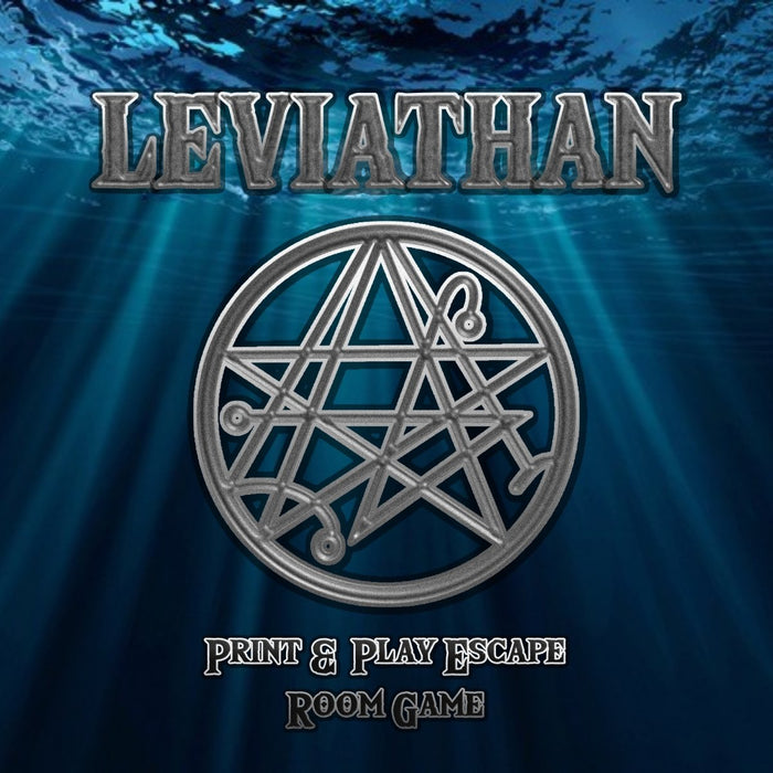 Leviathan - Print & Play Escape Room Game - The Panic Room Escape Ltd