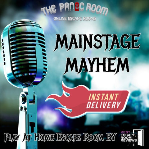 Mainstage Mayhem - Family Online Escape Room - The Panic Room Escape Ltd