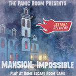 Mansion Impossible - Family Online Escape Room - The Panic Room Escape Ltd