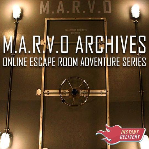 MARVO ARCHIVES - Online Escape Room Adventure - The Panic Room Escape Ltd
