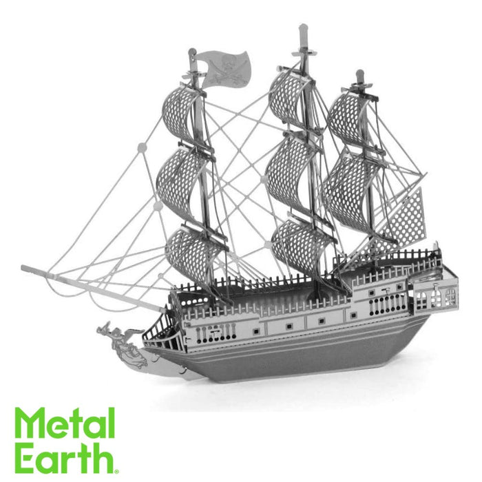 Metal Earth Puzzle - Black Pearl - DIY 3D Model Kit / Metal Jigsaw Puzzle - The Panic Room Escape Ltd