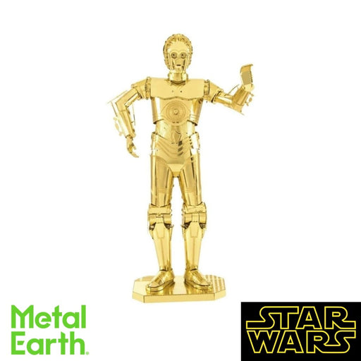 Metal Earth Puzzle - C-3PO - DIY 3D Model Kit / Metal Jigsaw Puzzle - The Panic Room Escape Ltd