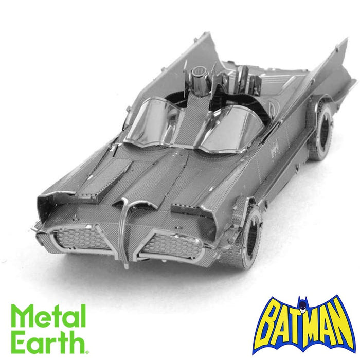 Metal Earth Puzzle - Classic TV Series Batmobile - DIY 3D Model Kit / Metal Jigsaw Puzzle - The Panic Room Escape Ltd