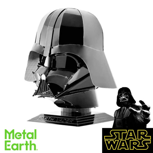 Metal Earth Puzzle - Darth Vader - DIY 3D Model Kit / Metal Jigsaw Puzzle - The Panic Room Escape Ltd