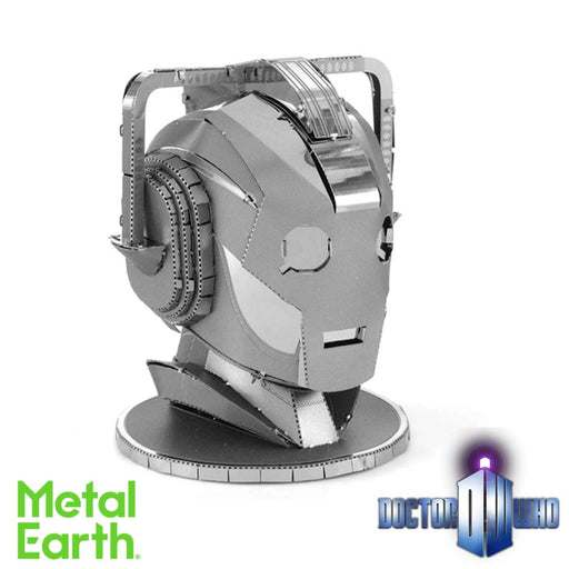Metal Earth Puzzle - Doctor Who Cyberman Head - DIY 3D Model Kit / Metal Jigsaw Puzzle - The Panic Room Escape Ltd