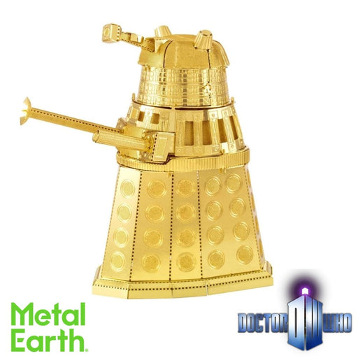 Metal Earth Puzzle - Doctor Who Dalek - DIY 3D Model Kit / Metal Jigsaw Puzzle - The Panic Room Escape Ltd