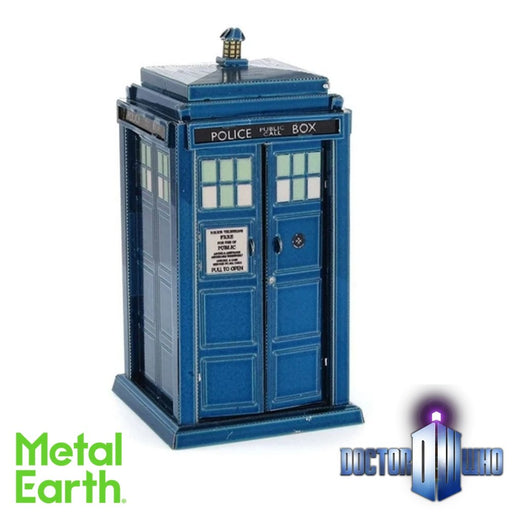 Metal Earth Puzzle - Doctor Who TARDIS - DIY 3D Model Kit / Metal Jigsaw Puzzle - The Panic Room Escape Ltd