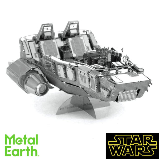 Metal Earth Puzzle - First Order Snowspeeder - DIY 3D Model Kit / Metal Jigsaw Puzzle - The Panic Room Escape Ltd