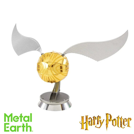 Metal Earth Puzzle - Harry Potter Golden Snitch - DIY 3D Model Kit / Metal Jigsaw Puzzle - The Panic Room Escape Ltd