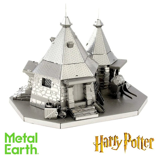Metal Earth Puzzle - Harry Potter Hagrid's Hut - DIY 3D Model Kit / Metal Jigsaw Puzzle - The Panic Room Escape Ltd