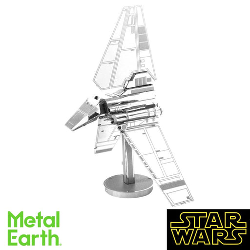 Metal Earth Puzzle - Imperial Shuttle - DIY 3D Model Kit / Metal Jigsaw Puzzle - The Panic Room Escape Ltd