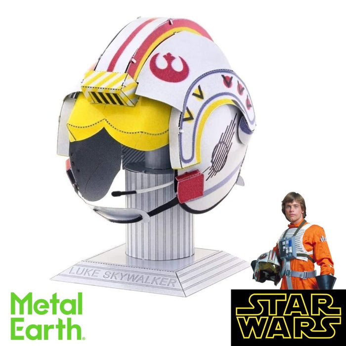 Metal Earth Puzzle - Luke Skywalker - DIY 3D Model Kit / Metal Jigsaw Puzzle - The Panic Room Escape Ltd