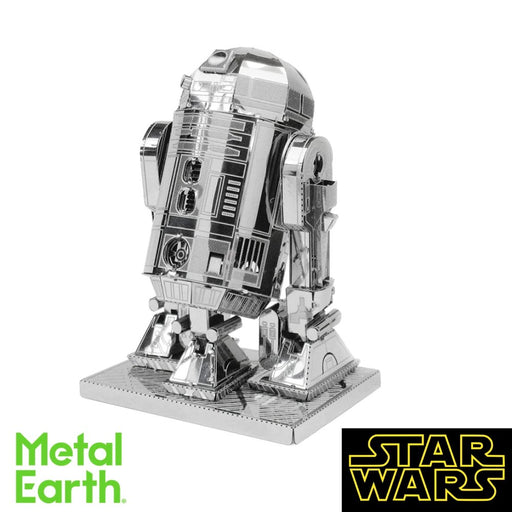 Metal Earth Puzzle - R2D2 - DIY 3D Model Kit / Metal Jigsaw Puzzle - The Panic Room Escape Ltd