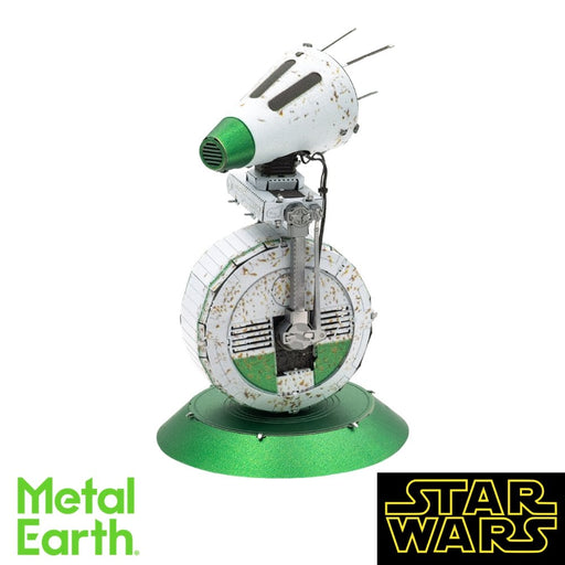 Metal Earth Puzzle - Star Wars: D-O - DIY 3D Model Kit / Metal Jigsaw Puzzle - The Panic Room Escape Ltd