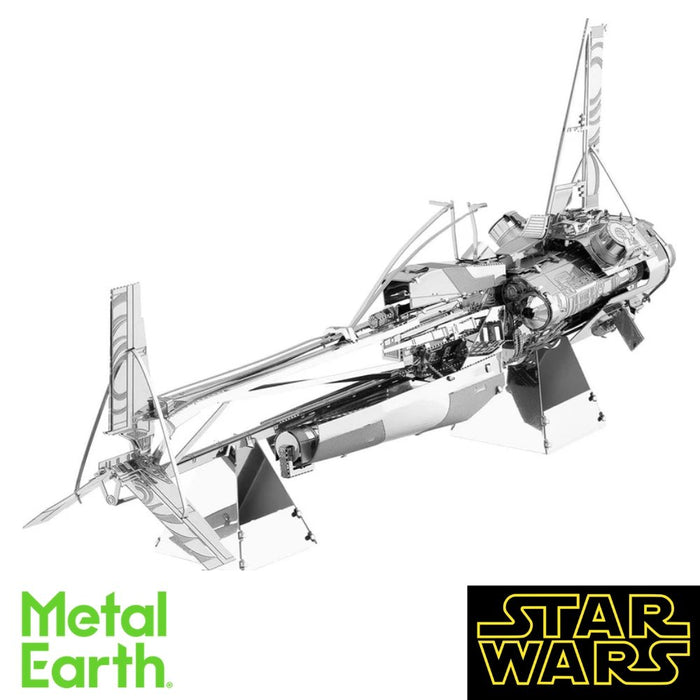 Metal Earth Puzzle - Star Wars: Enfys Nest's Swoop Bike - DIY 3D Model Kit / Metal Jigsaw Puzzle - The Panic Room Escape Ltd