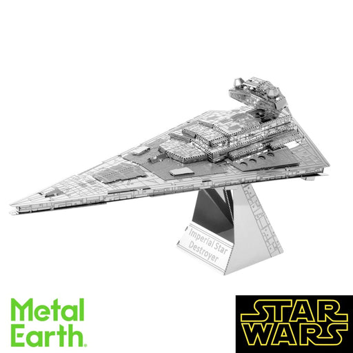 Metal Earth Puzzle - Star Wars: Imperial Star Destroyer - DIY 3D Model Kit / Metal Jigsaw Puzzle - The Panic Room Escape Ltd