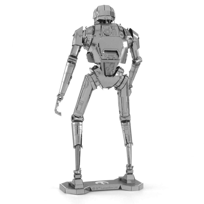 Metal Earth Puzzle - Star Wars: K-2SO - DIY 3D Model Kit / Metal Jigsaw Puzzle - The Panic Room Escape Ltd