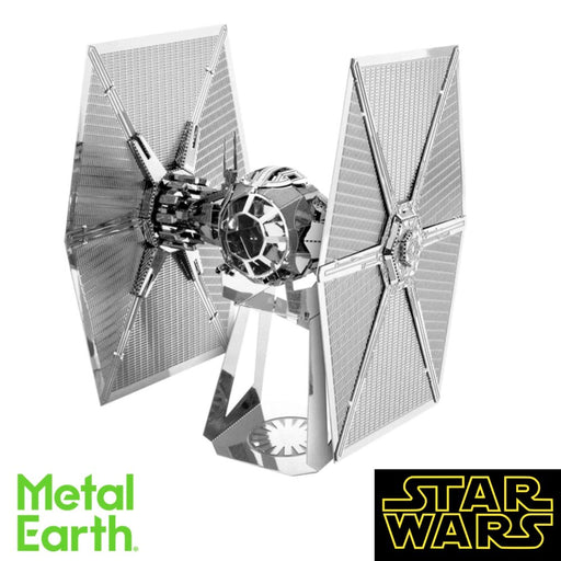 Metal Earth Puzzle - TIE Fighter - DIY 3D Model Kit / Metal Jigsaw Puzzle - The Panic Room Escape Ltd