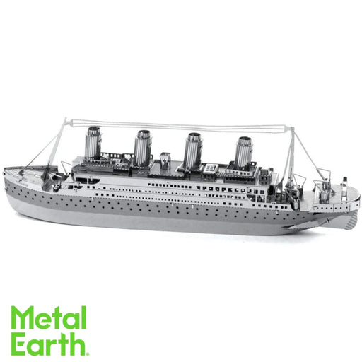 Metal Earth Puzzle - TITANIC - DIY 3D Model Kit / Metal Jigsaw Puzzle - The Panic Room Escape Ltd