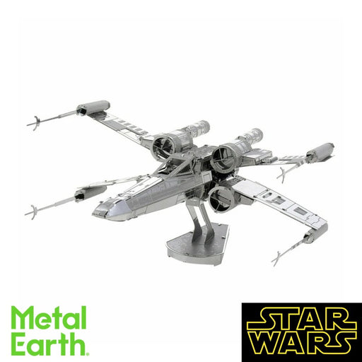 Metal Earth Puzzle - X-Wing Fighter - DIY 3D Model Kit / Metal Jigsaw Puzzle - The Panic Room Escape Ltd