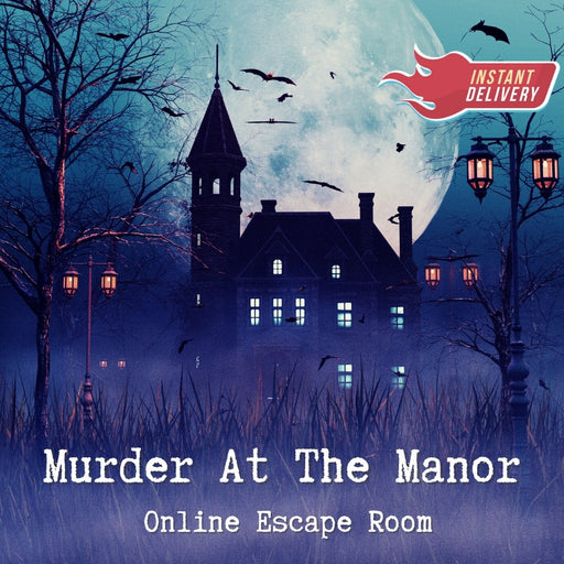 Murder At The Manor - Online Escape Room Experience *New For 2021* - The Panic Room Escape Ltd
