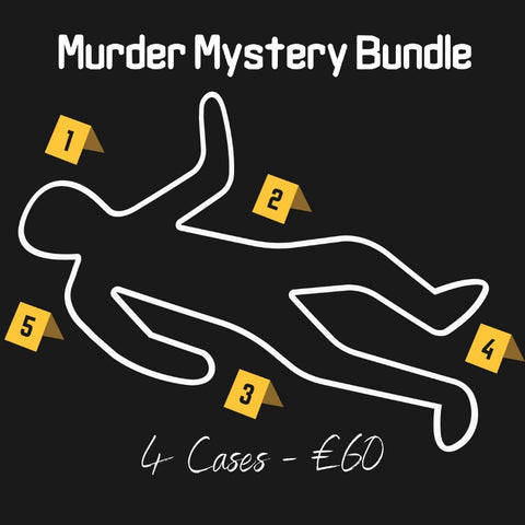 Murder Mystery - Online Escape Room Bundle - 4 Games - The Panic Room Escape Ltd