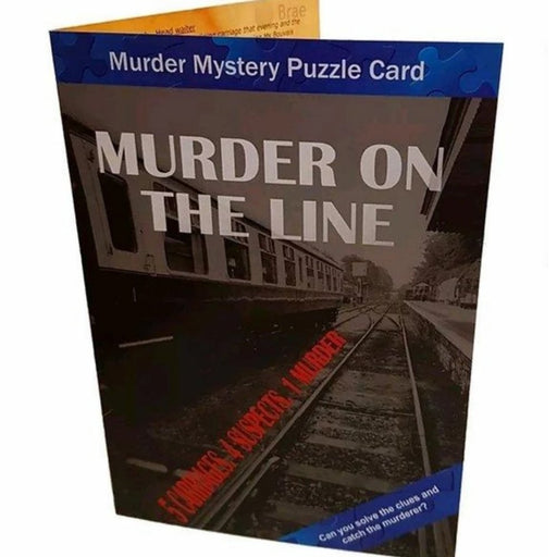 Murder Mystery Puzzle Card - The Panic Room Escape Ltd