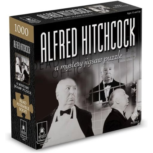 Mystery Jigsaw Puzzle - Alfred Hitchcock - 1000pcs - The Panic Room Escape Ltd