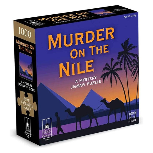 Mystery Jigsaw Puzzle - Murder On The Nile - 1000pcs - The Panic Room Escape Ltd