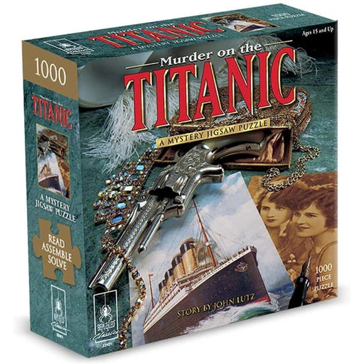 Mystery Jigsaw Puzzle - Murder On The Titanic - 1000pcs - The Panic Room Escape Ltd