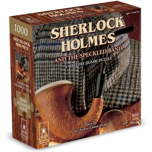 Mystery Jigsaw Puzzle - Sherlock Holmes - 1000pcs - The Panic Room Escape Ltd