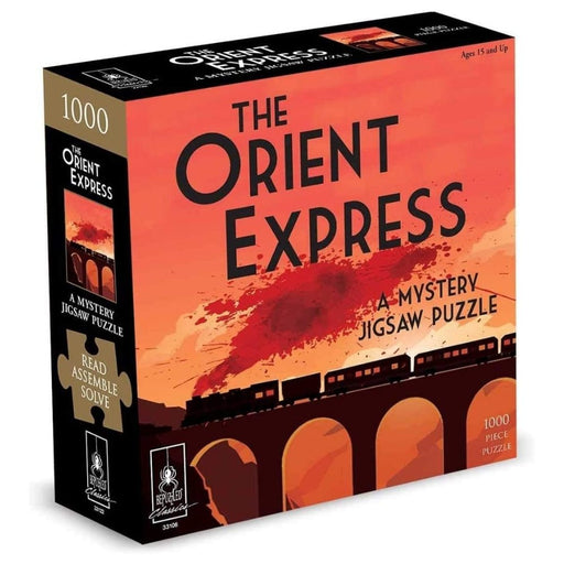 Mystery Jigsaw Puzzle - The Orient Express - 1000pcs - The Panic Room Escape Ltd