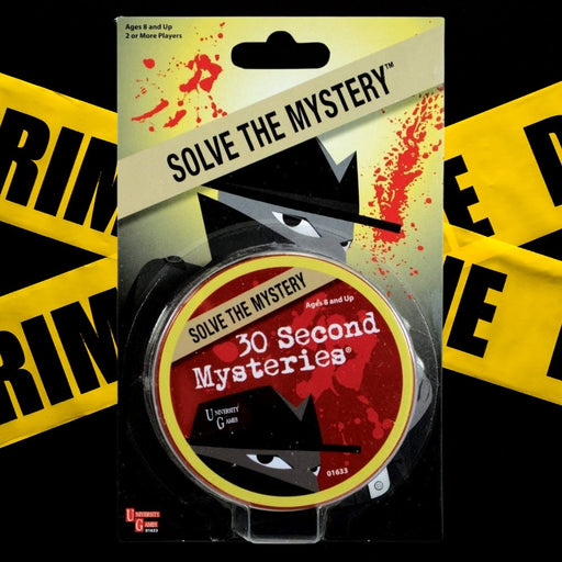 Mystery Tins - 30 Second Mysteries - The Panic Room Escape Ltd