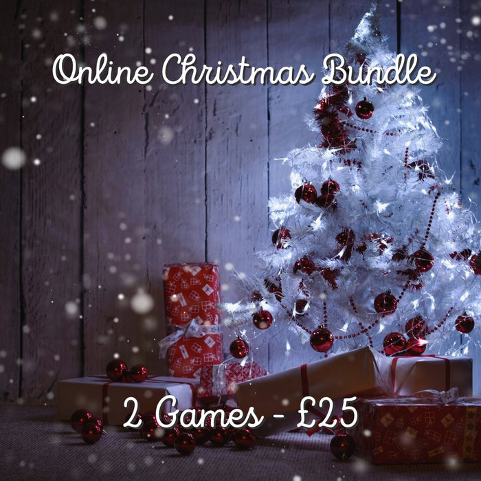 Online Christmas Bundle - 2 Games - The Panic Room Escape Ltd